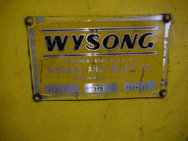 10 FT Wysong Mechanical Shear 14064 pic 4.jpg