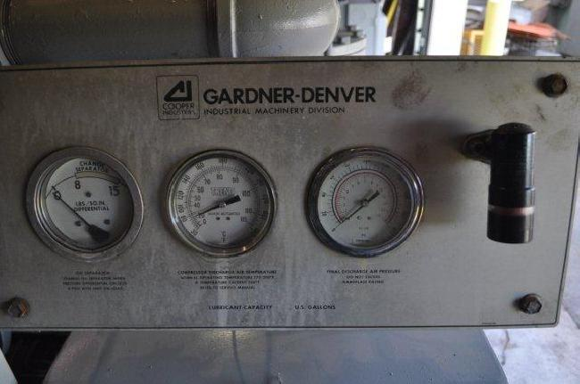 125 hp Gardner Denver Air Compressor 23014A pic 2.jpg