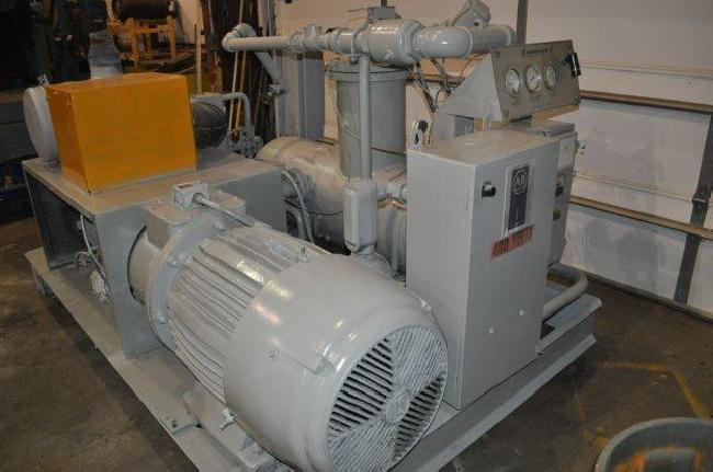 125 hp Gardner Denver Air Compressor 23014A pic 6.jpg