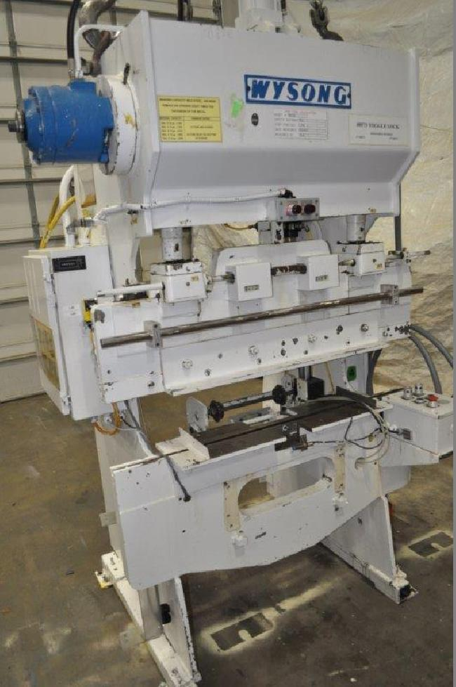 20 Ton Wysong Press Brake 15083J pic 1.jpg