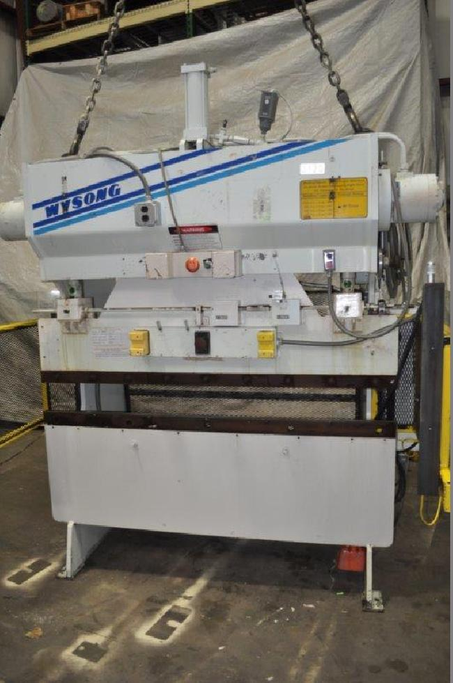 40 Ton Wysong Press Brake 15083C pic 1.jpg