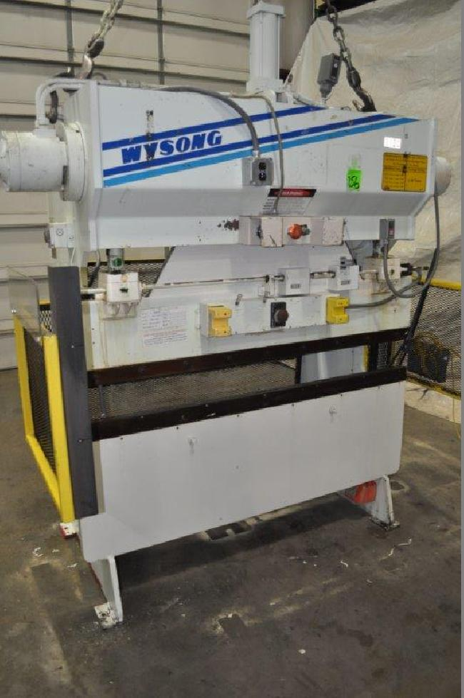 40 Ton Wysong Press Brake 15083C pic 2.jpg
