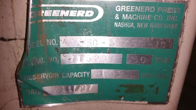 50 Ton Greenerd Hyd Press 15003D pic 7.jpg