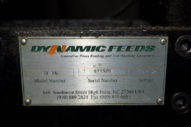 6 X 187 Dynamic Feeds Wire Feeder 27027G pic 5.jpg